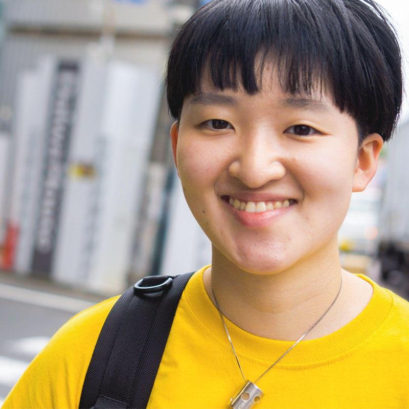 専門学校 桑沢デザイン研究所学生インタビュー本田花さん