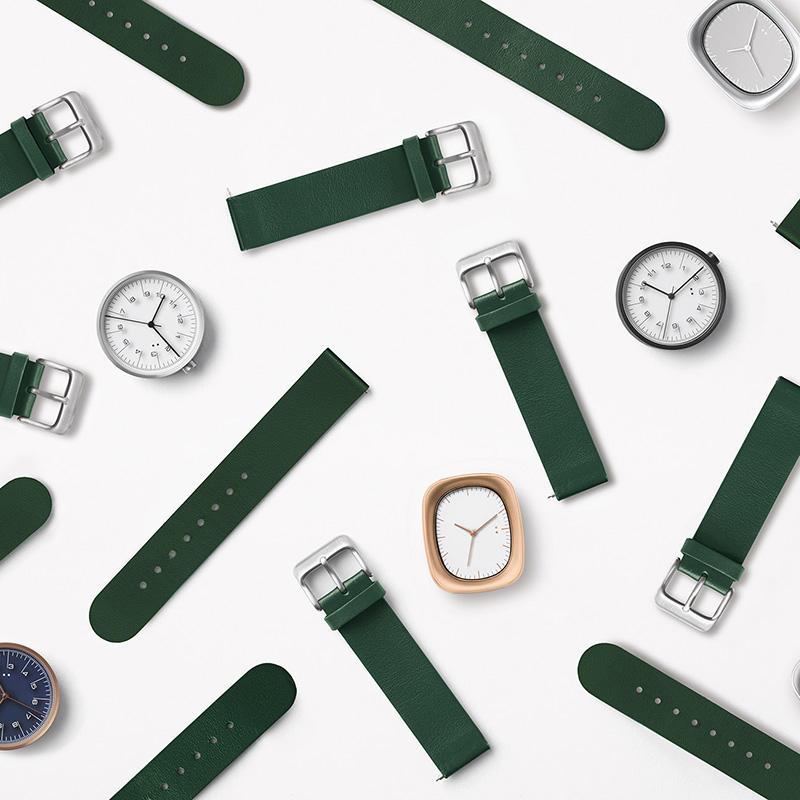 デザインオフィスnendoが手掛けるウォッチブランド10:10 BY NENDOから、新色ストラップが発売。