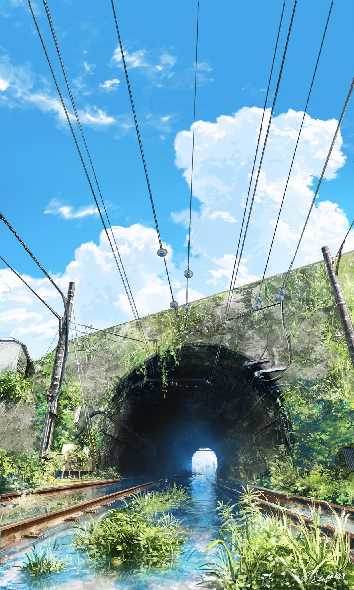 トンネルの向こう側はどんな景色が広がっているだろう.jpg