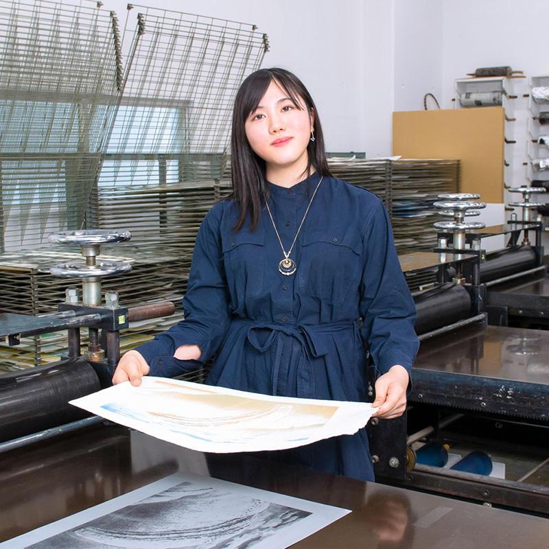 武蔵野美術大学学生インタビュ-宮澤万菜さん